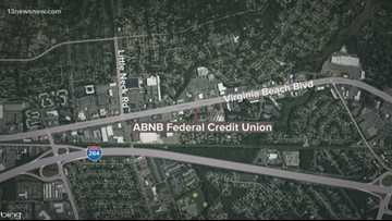 Virginia Beach investigating robbery at credit union