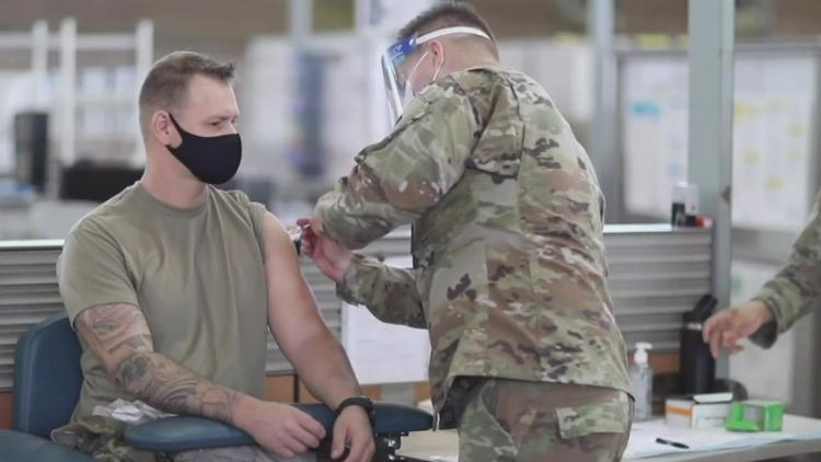 Biden asks Pentagon to consider making COVID-19 vaccines required for military