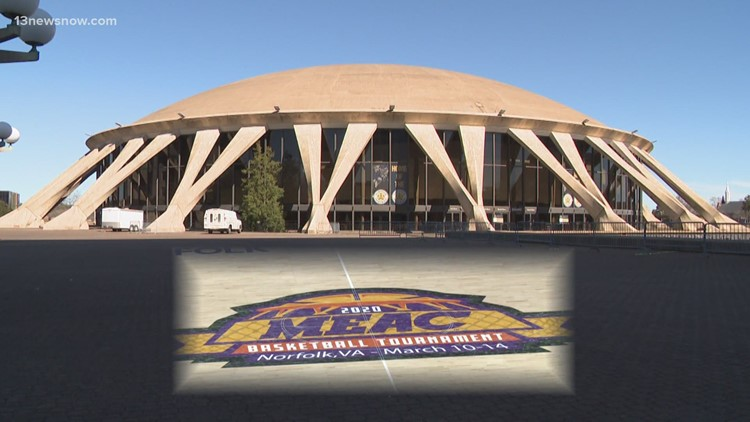 MEAC Tournament returns to Scope Arena with changes due to COVID-19