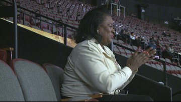 NSU Alumnus Hutchison loves coming to the MEAC Basketball Tournament