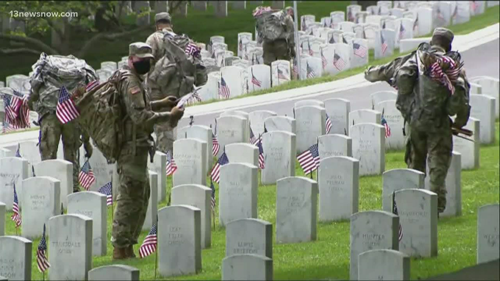 Strict rules in place for visitors to national cemeteries for ...