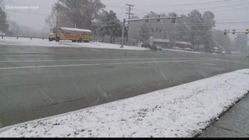 Williamsburg, areas on Peninsula become winter wonderland