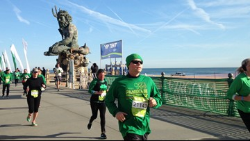 Runners take over the Oceanfront for 46th Annual Shamrock Marathon