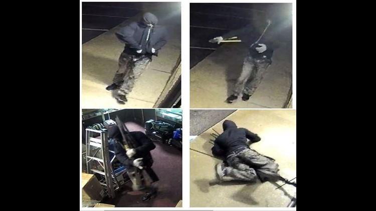 ATF, Police offers up to $6K reward for arrest of firearm burglar