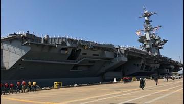 Harry S. Truman Carrier Strike Group returns to Naval Station Norfolk