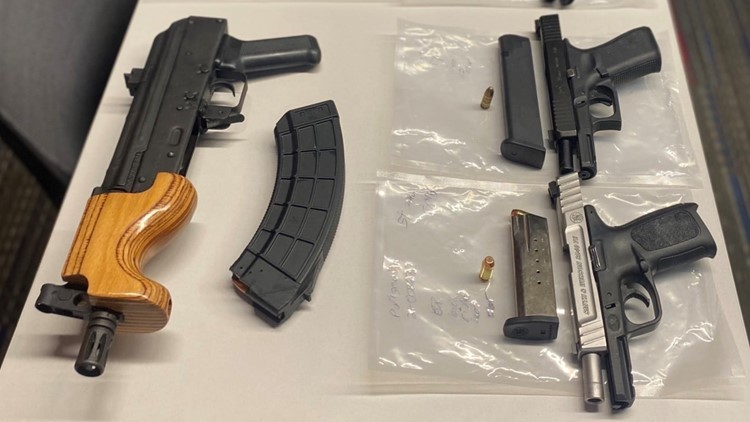 Police seize 9 weapons at high school football game in Virginia Beach