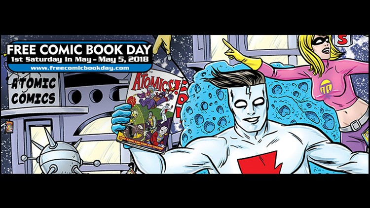 Visit Sarasota County libraries Saturday for a free comic book