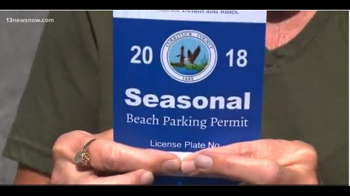 Virginia Beach Parking Pass