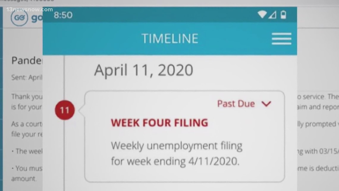 Virginians report new problems filing PUA weekly claims for unemployment benefits