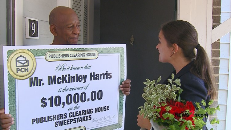 Publishers Clearing House Prize Patrol surprises military