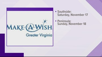 NEWSMAKER: Make-A-Wish help make sick children's wishes come true