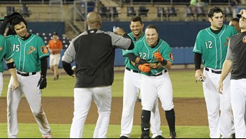 Tides rally to win in extras 5-4 over Stripers