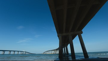 Wind restrictions lifted from Chesapeake Bay Bridge-Tunnel in Hurricane Dorian's wake