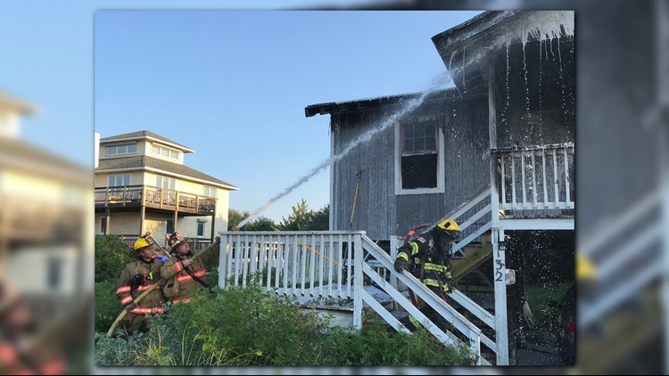 The cause of the blaze is still under investigation.