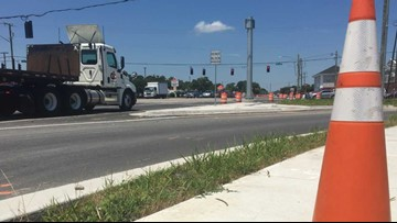 Traffic signal technical issues at Kempsville, Indian River roads