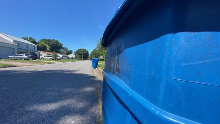 Hampton Roads residents notice recycling pickup delay, officials say shortage of drivers is to blame