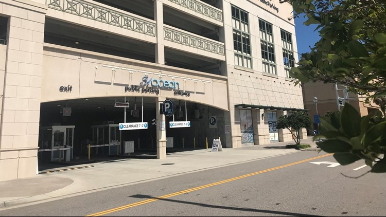 Ahead of Hurricane Florence city officials are opening parking garages across the Hampton Roads area for residents to move their cars to higher ground.
