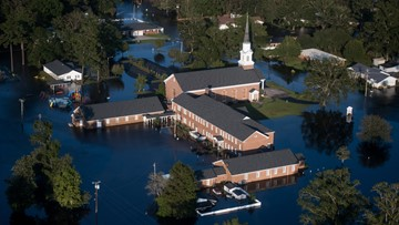 Officials: Damage from Florence in North Carolina at $17B