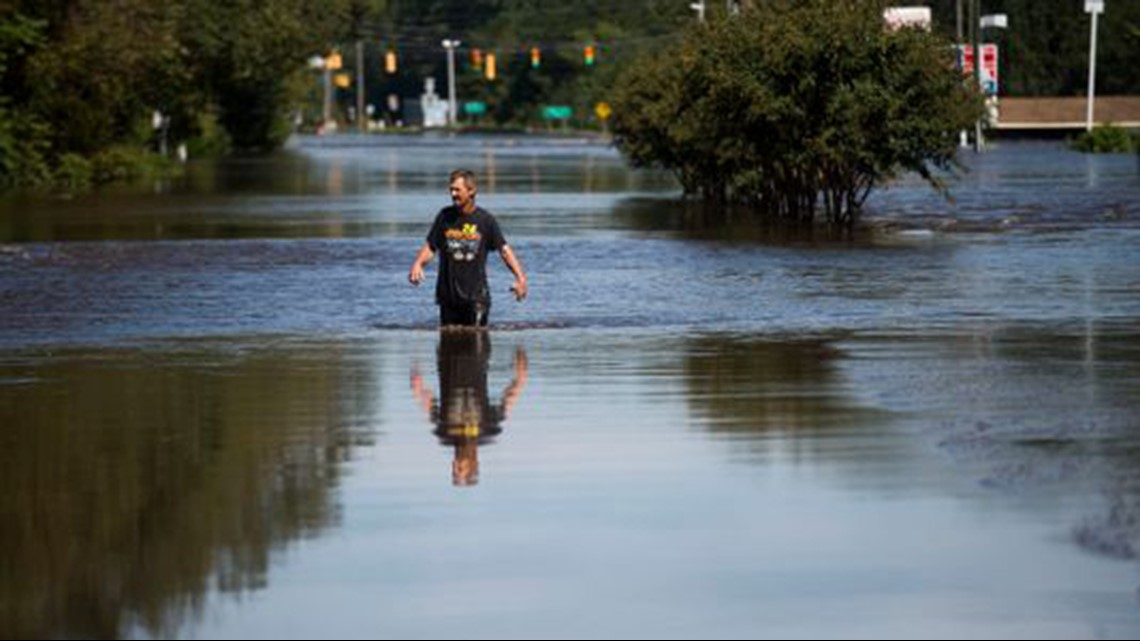 Florence Evacuations Continue As North Carolina Rivers