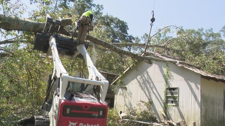 Louisiana woman gets help with Ida damage