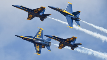 Blue Angels' 2020 performances up in the air