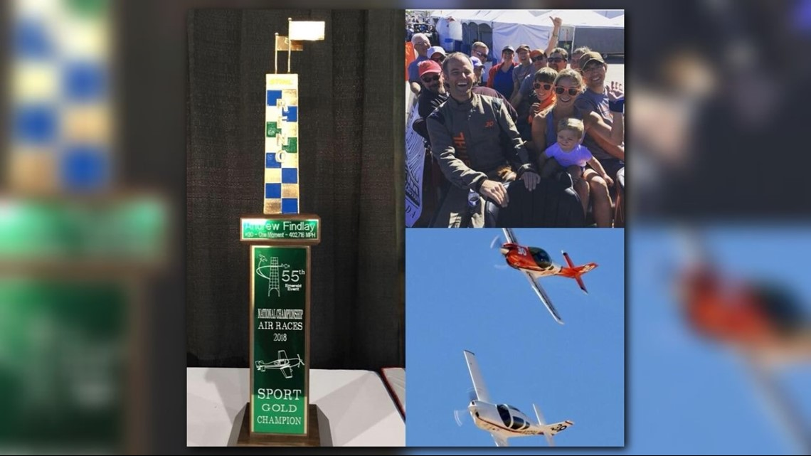 Local pilot wins national air race | 13newsnow com