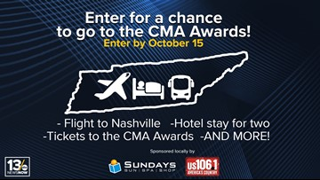 Country Music's Biggest Night sweepstakes rules