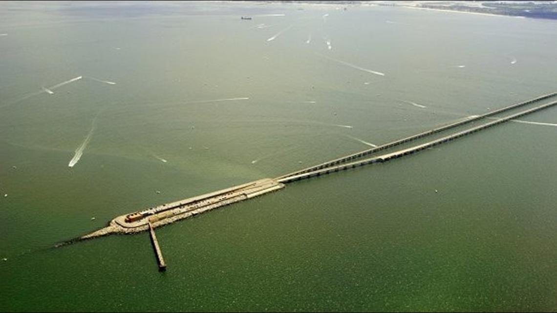 TRAFFIC ALERT: Crash closes Chesapeake Bay Bridge-Tunnel ...