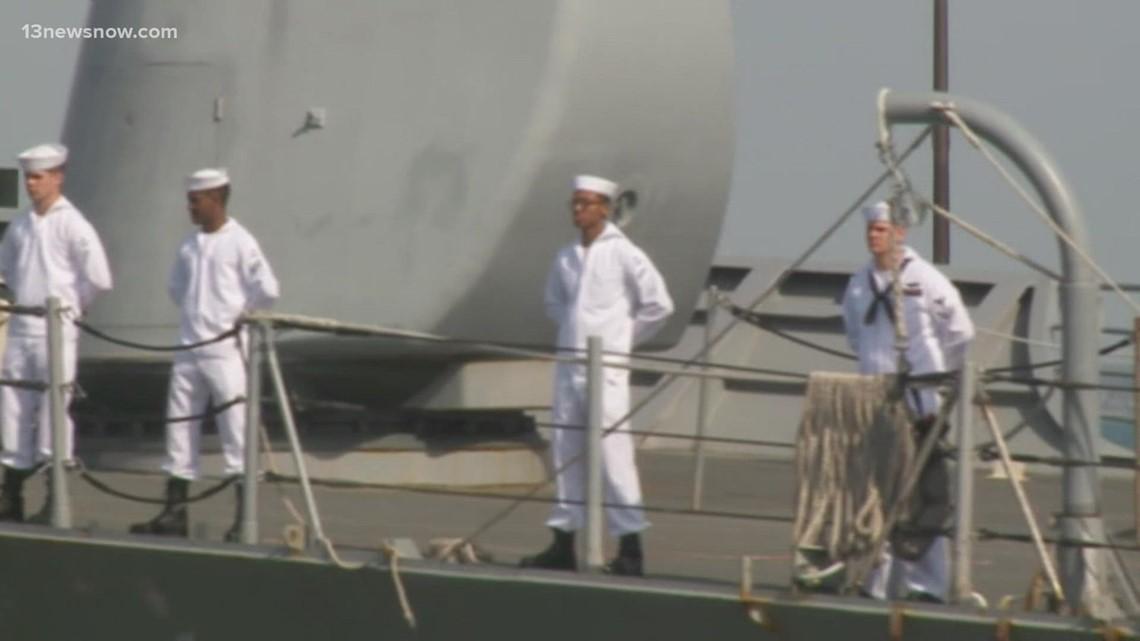 USS Monterey, USS Mitscher expected to return to Naval Station Norfolk on Friday
