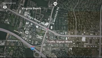 Traffic alert for drivers in Virginia Beach this weekend