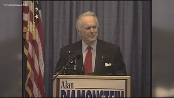 Former Newport News lawmaker Alan Diamonstein dies at 88