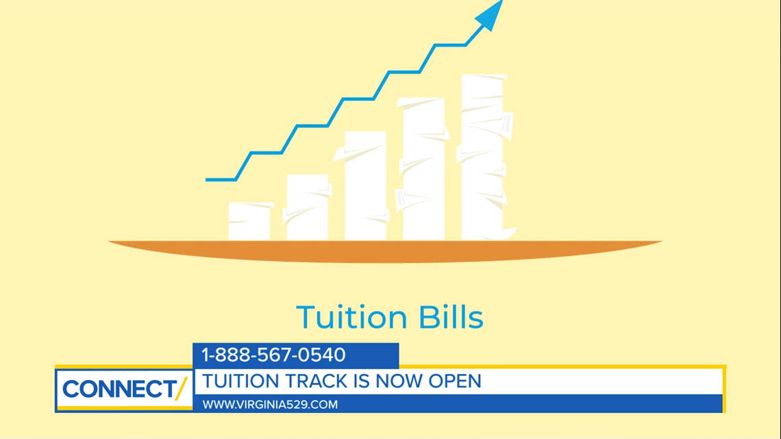 CONNECT with Virginia529: Save for college with Tuition Track