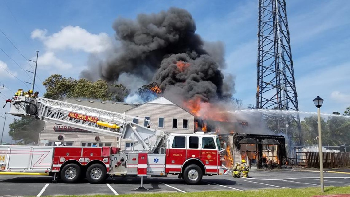 Fire Consumes Outer Banks Christmas Shop