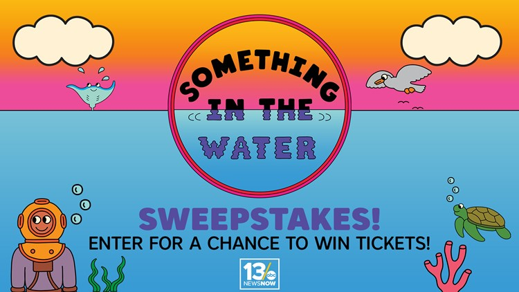 SOMETHING IN THE WATER sweepstakes rules