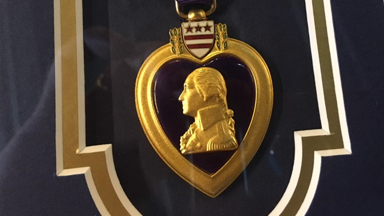 Two Virginia heroes honored with medals they earned in long-ago wars