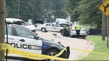 Driver, passenger killed after head-on collision in Chesapeake