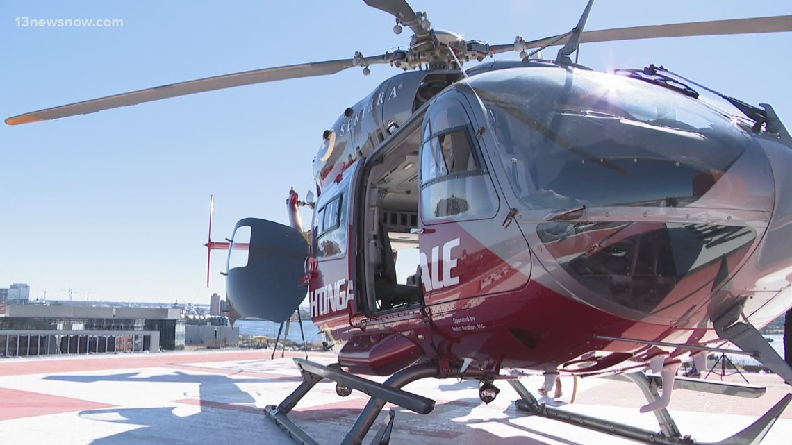 Sentara's Nightingale helicopter crew created new safety protocols for COVID-19 patients