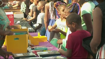 Local nonprofit hosts backpack, school supply giveaway in Chesapeake
