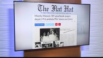 Monty Mason's fraternity held mock slave auction in 1989
