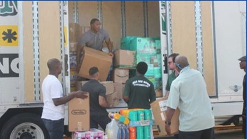 Newport News church teams up with moving company to help Florence victims