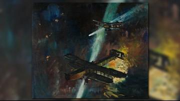 Chrysler Museum displays paintings of WWI aviation combat artist