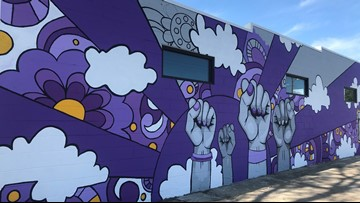 New mural sheds light on domestic violence