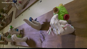 IN SESSION: Chrysler Museum displays local students' art