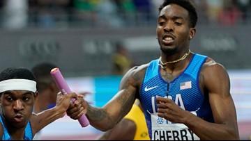 Chesapeake's Cherry strikes gold at the World Championships