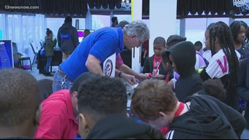 Norfolk Naval Shipyard holds STEM workshop for Portsmouth students