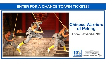 Chinese Warriors of Peking sweepstakes rules