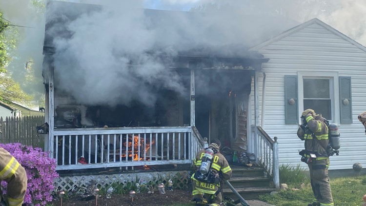 House sustains 'significant damage' during fire in Portsmouth