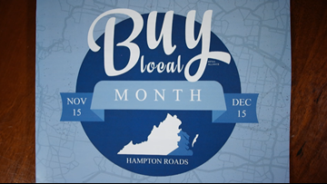 'Buy Local Month' established in Hampton Roads