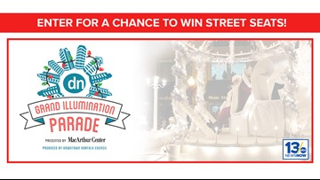 Holiday Parade sweepstakes rules