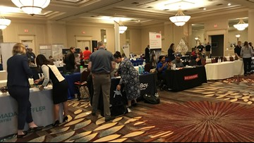 'Hire Virginia' recruits hundreds of university students to find jobs in the state